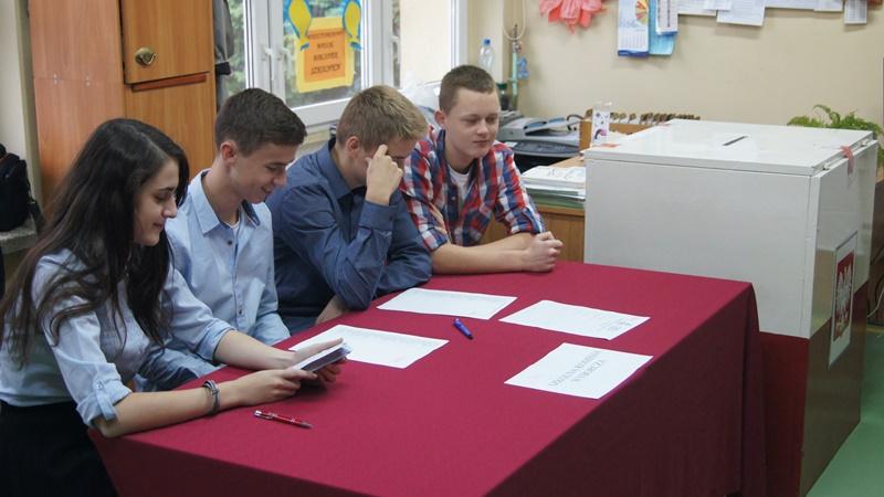 Wybory parlamentarne w naszej szkole